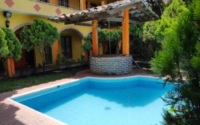 Alberca del hotel Jalcomulco, Veracruz